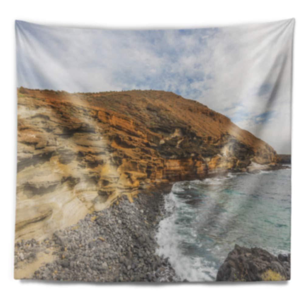 Designart TAP10724-60-50 Peninsula Going Beyond The Horizon Wall Tapestry Large//60 x 50