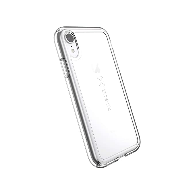 finest selection f45a7 0a2ac Speck Products GemShell iPhone XR Case, Clear/Clear