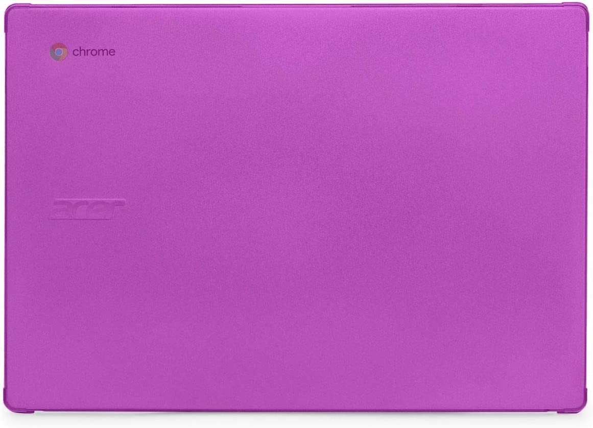 "mCover Hard Shell Case for 2020 14"" Acer Chromebook 314 C933 Series Laptop (Purple)"