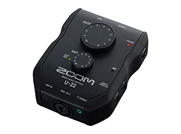 Zoom U-22 - Interfaz de audio portátil: Amazon.es: Instrumentos musicales