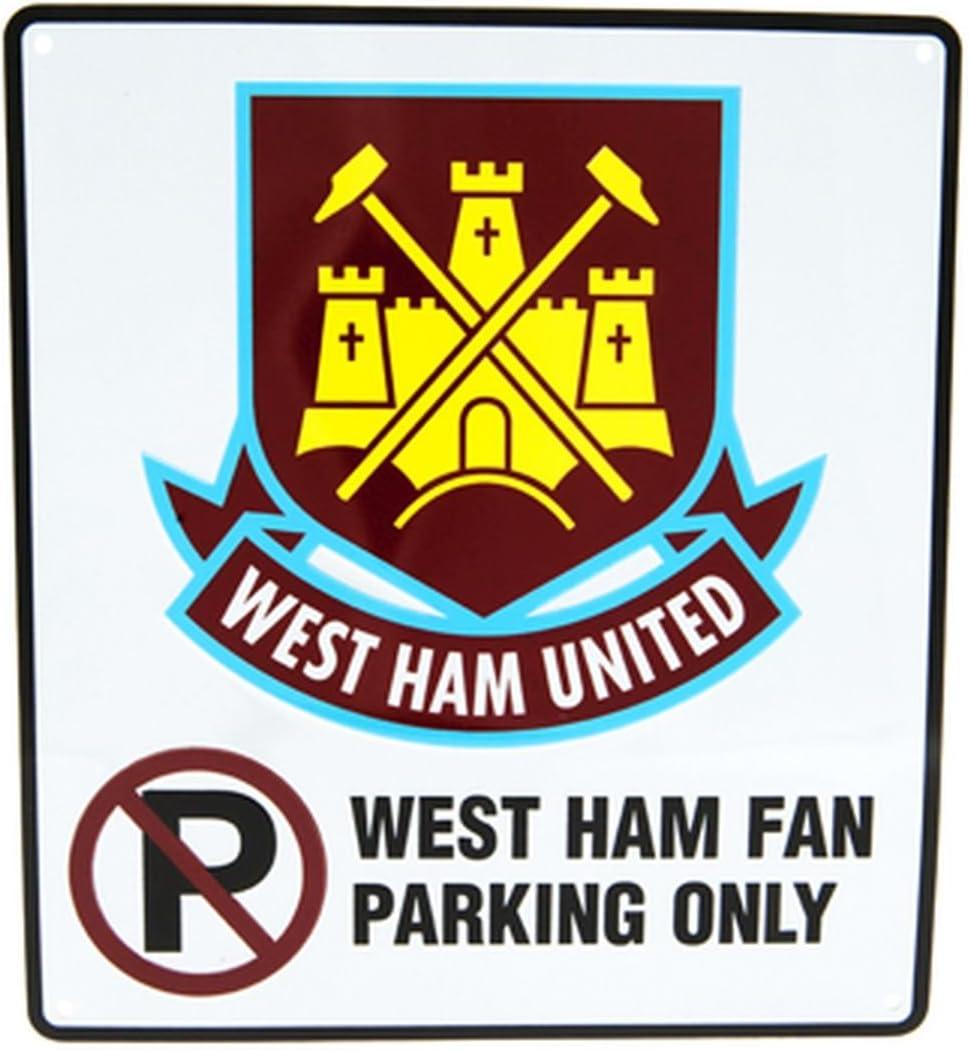No Parking Sign West Ham United F.C