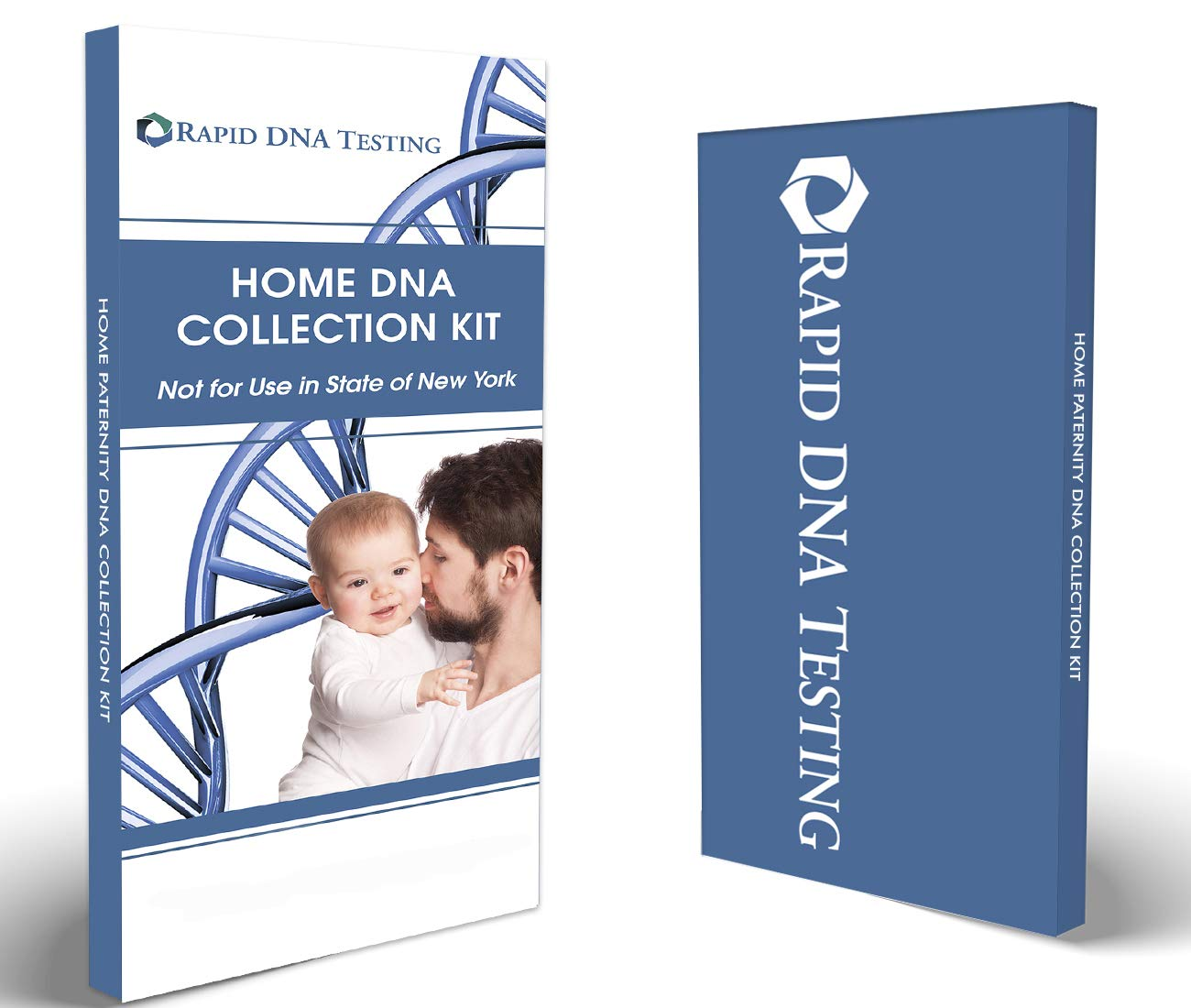 Rapid DNA Paternity Test Kit | All Lab Fees & Shipping to Lab Included | Confidential Results in 2 Business Days Accurate, Simple | in The Privacy of Your Home (Not Available in New York) by Rapid DNA Testing