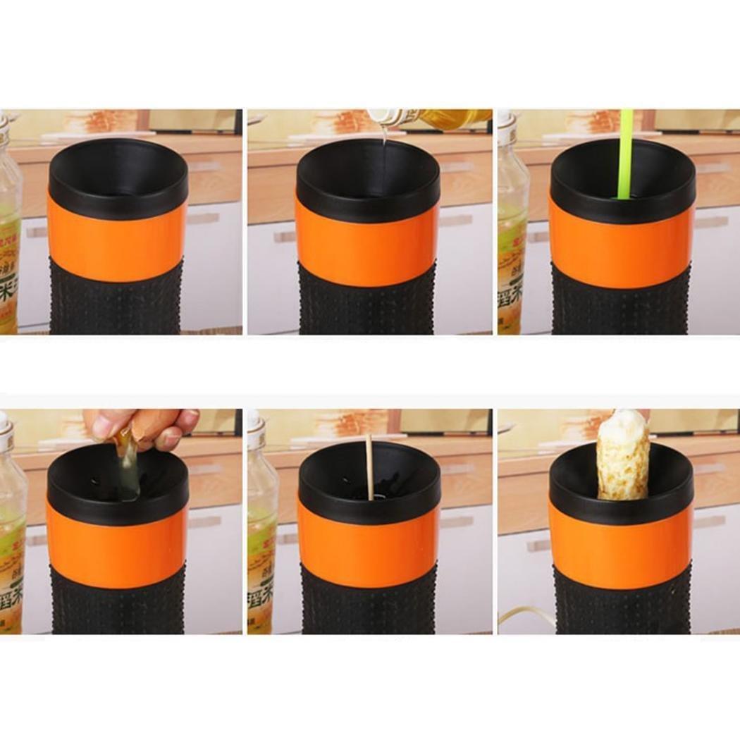Cuecehuevos befied EI en el palo de huevera para DIY Desayuno eléctrica eiermaker, 220 V naranja: Amazon.es: Grandes electrodomésticos