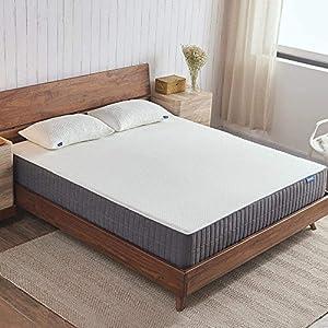 10 Inch Gel Memory Foam Mattress, Queen Mattress in a Box with CertiPUR-US Certified Foam for Soundly Sleep, Queen Size