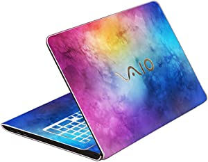 Protective Laptop Notebook Cover wrap RemovableDecal Skin Sticker for Sony VAIO FIT 15E / F15
