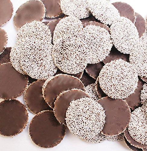 NonPareils Dark Chocolate-White (2.5 lb bag)