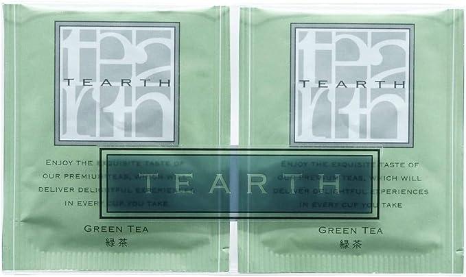 TEARTH ( ティーアース ) 日本茶 緑茶 ティーバッグ 12袋入り 個包装