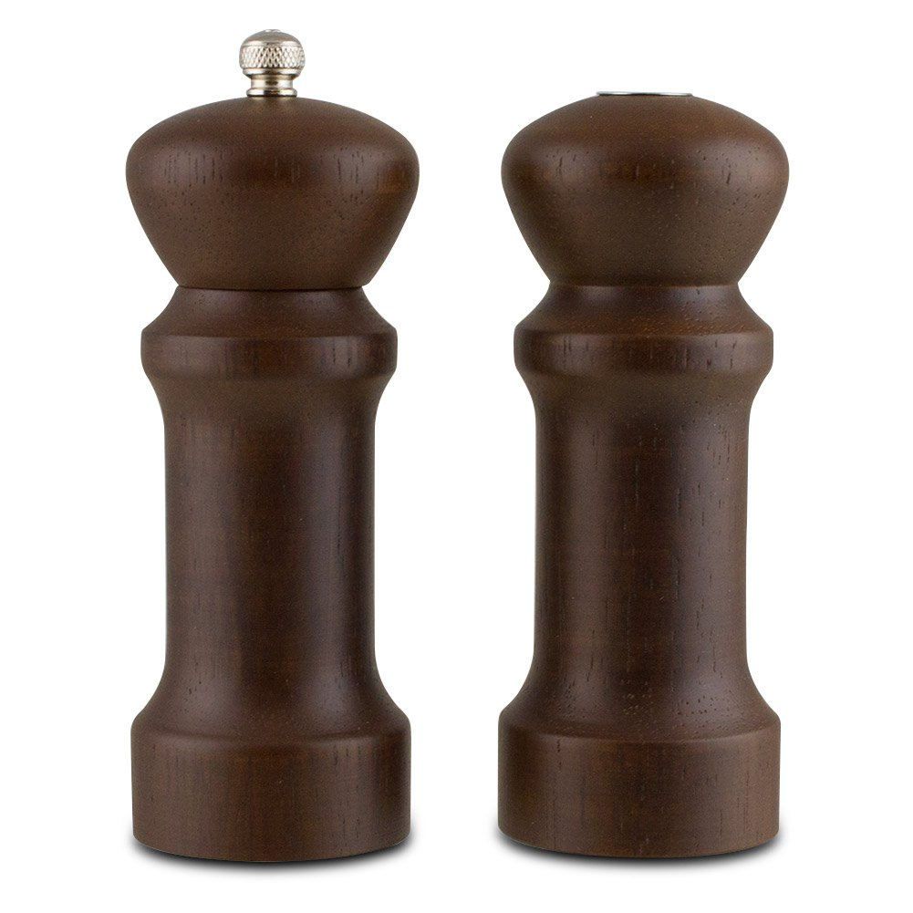 Trudeau Wood Pepper Mill & Salt Shaker Set