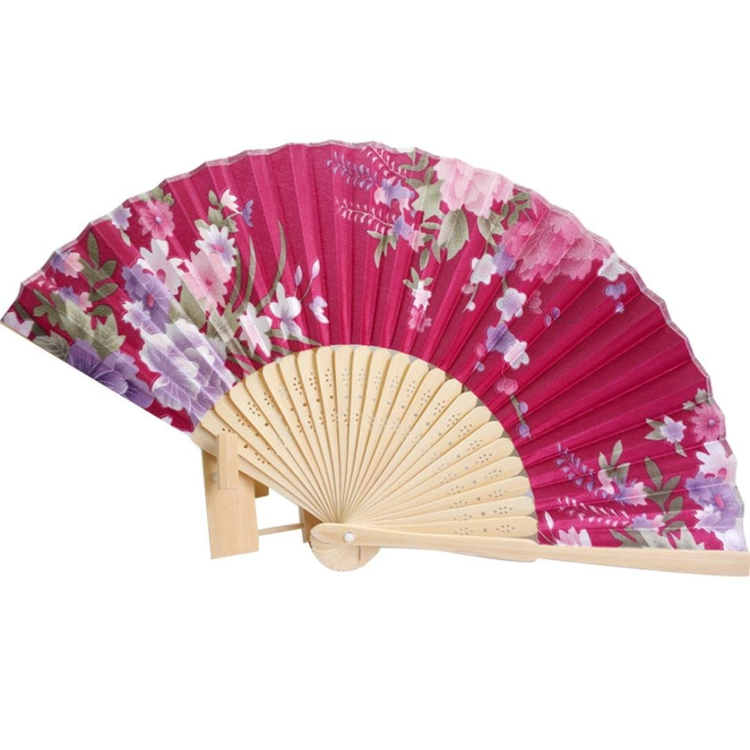Amazon.com: Binmer(TM) Japanese Cherry Blossom Folding Hand Dancing ...