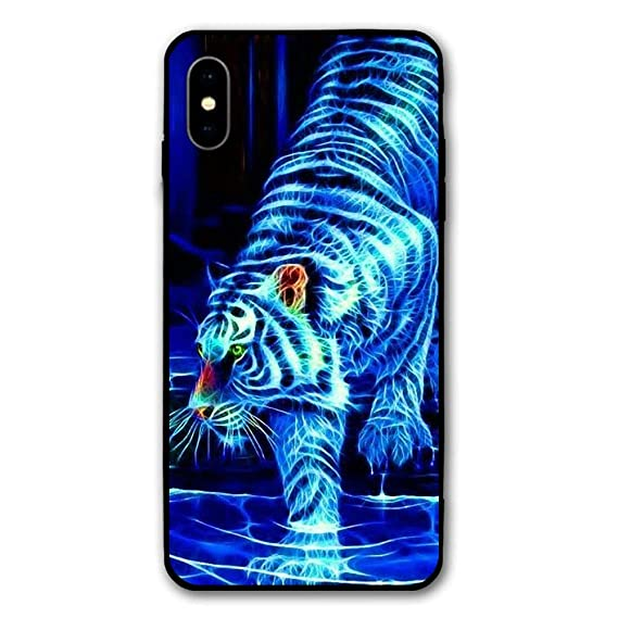 separation shoes 32f1b 05082 Amazon.com: White Tiger iPhone X Case, Ultra-Thin PC Hard Case Cover ...