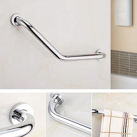 Amazoncom Bathroom Grab Bar AntiSlip Grip Grab Bar Rail Stainless