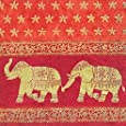 IHR Elephant napkins traditional luxury paper napkins 20 - marani elephant red gold