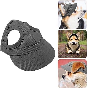 Verstellbarer Hundecap Baseball M/ütze Gurt Hat M/ütze Kappe Sunbonnet F/ür Haustier Hund Katze,Camouflage
