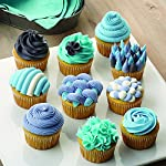 Wilton decorator preferred cake decorating set, 48-piece 9 buttercream decorators dream: everything you need to create amazing cakes for birthdays, mother's day, weddings, baby showers and special events. Adorn your creation with beautiful blooms including large rosettes and multi-colored star blossoms. 48-piece set includes: 4 couplers, 4 tip covers, cleaning brush, flower nail, decorating bags, 2 spatulas, 2 bake even cake strips and 16 decorating tips to make beautiful flowers and designs. All you need to decorate cakes, pastries and cupcakes. Elegant orgainization: comes in an attractive clear storage caddy. A lift-out compartment holds tips, icing colors and couplers. Plus the lid fits underneath to save valuable decorating space. It's easy to find what you need when you need it.