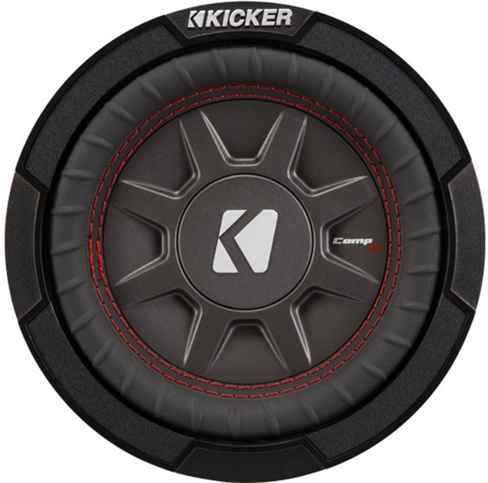 Kicker CompRT67 6.75-inch (165mm) Subwoofer, DVC, 2-Ohm, 150W 43CWRT672