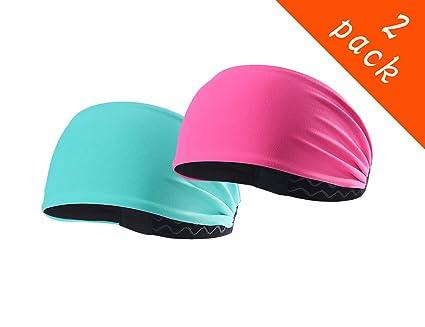 4720cba37847 Epomay Sport Headbands - Workout Yoga Athletic Headband Sweatband for  Running STravel Fitness - Elastic Stretchy
