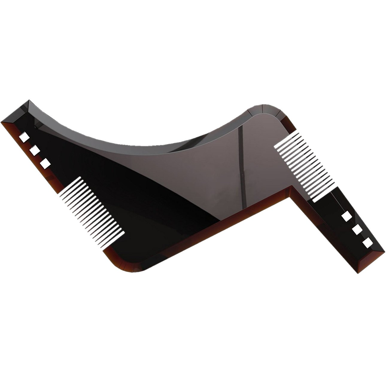 THEE Beard Styling Shaping and Stencil Tool Template Comb