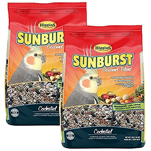 Higgins Sunburst Cockatiel Food, 6 LB
