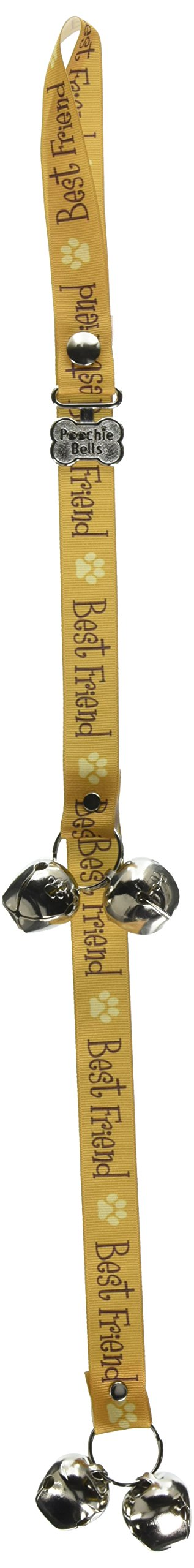 PoochieBells The Original & Trusted Dog Housetraining Doorbell. Potty Dog Bells to Housetrain & Communicate With Your Dog : Handcrafted in USA Since 2005 : Endorsed by Pet Industry Professionals : Easy 95% Success Rate: Potty Training Instructions Include