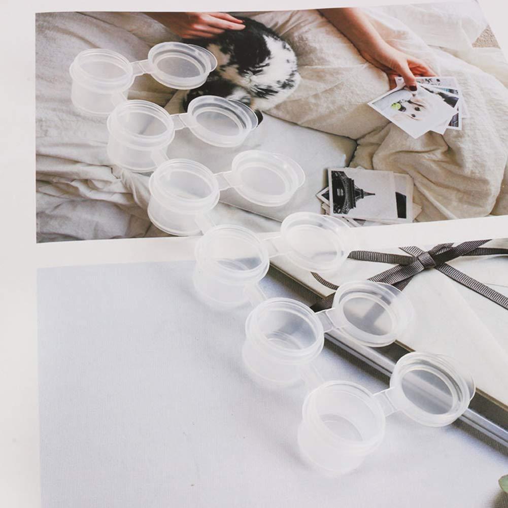Inicio Caja de Latas de Pinturas de Acuarela Vac/ía Caja de Pintura de Arte Caja Vac/ía de Acuarela para Pintura de Arte DIY Craft