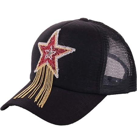 zhuzhuwen Sombrero Gorra de béisbol de Cinco Estrellas de ...