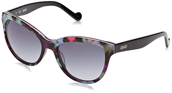 Liu Jo LJ629S 513 54 Gafas de Sol, Flowers On Purple, Mujer ...