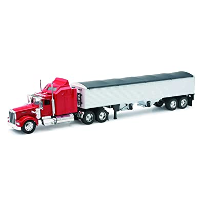 New-Ray Kenworth W900 Grain Hauler Tractor and Trailer 1/32 Scale Toy Model Car: New Ray: Toys & Games