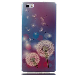 YH,[Hybrid] Ultra Slim Shockproof Rubber Soft Skin Silicone Protective Case Cover for Huawei P8lite / Huawei ALE-L21
