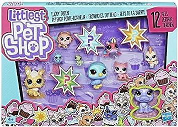 Littlest Pet Shop - Lucky dozen (Hasbro), colores surtidos: Amazon ...