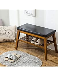 shoe bench nnewvante organizing rack free standing faux leather shoe storage racks bamboo seat for closet