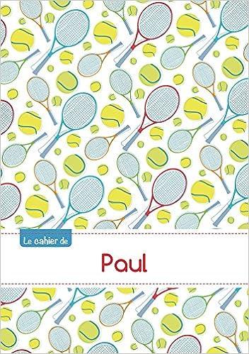 Livre CAHIER PAUL SEYES,96P,A5 TENNIS pdf ebook