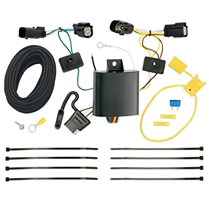 amazon com draw tite tow harness t connector trailer wiring harness rh amazon com draw-tite trailer wiring harness kit draw-tite 5th wheel/gooseneck wiring harness 7-pole