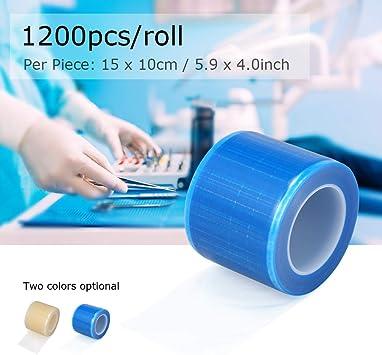 15cm roll Pellicola protettiva eliminabile del film protettivo dentario di plastica Membrana di isolamento materiale orale di plastica del materiale medico 10 1200pcs