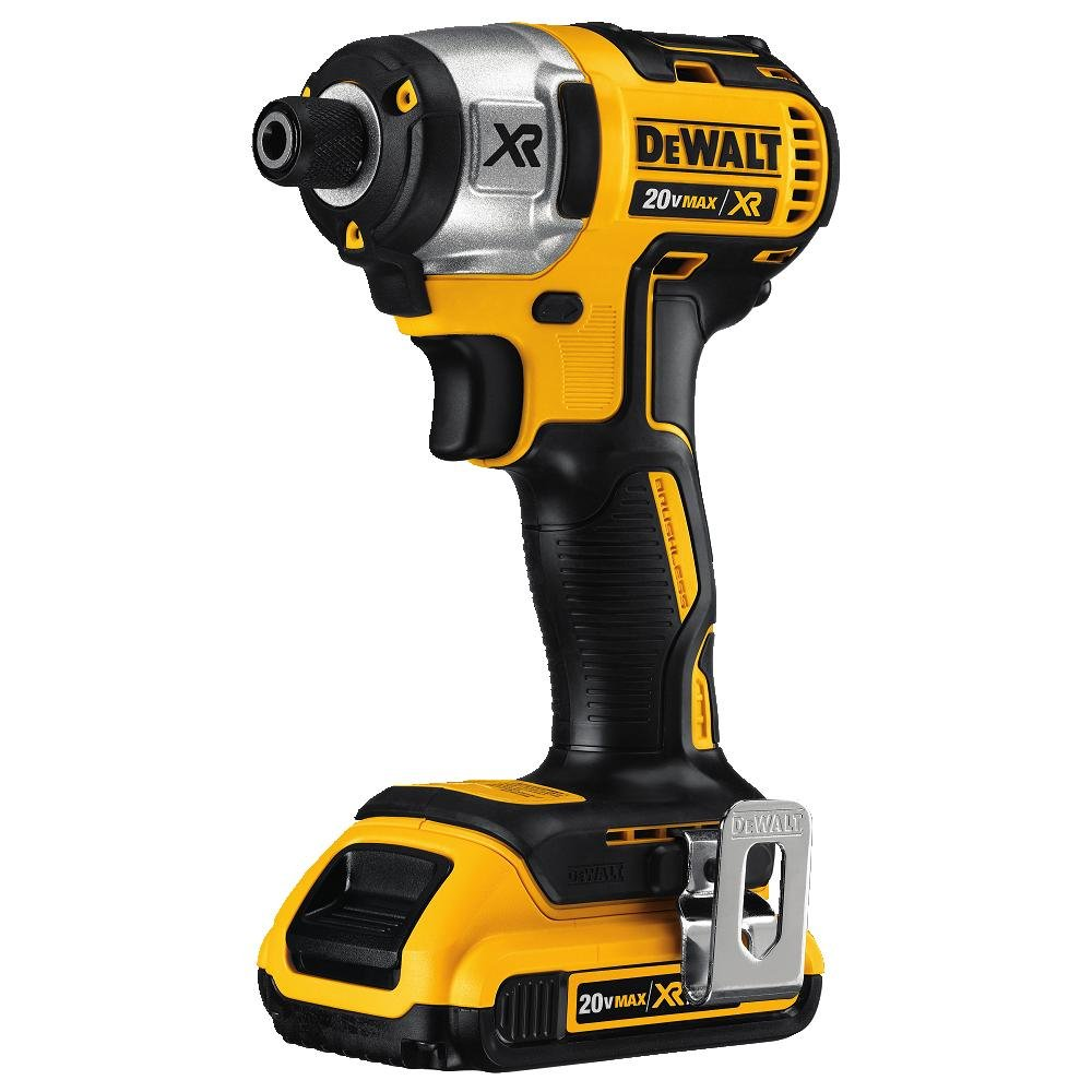 DEWALT DCK281D2 20V Max XR Lithium Ion Brushless Compact Drill/Driver & Impact Driver Combo Kit by DEWALT
