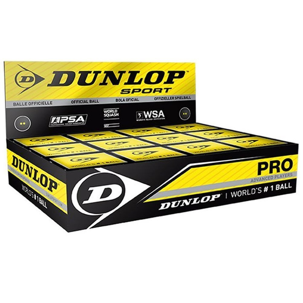 Dunlop Sports Pro XX Squash Ball - One Dozen