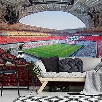 Fototapete Vlies Tapete FCB Stadion Mia san mia Bayern München ...