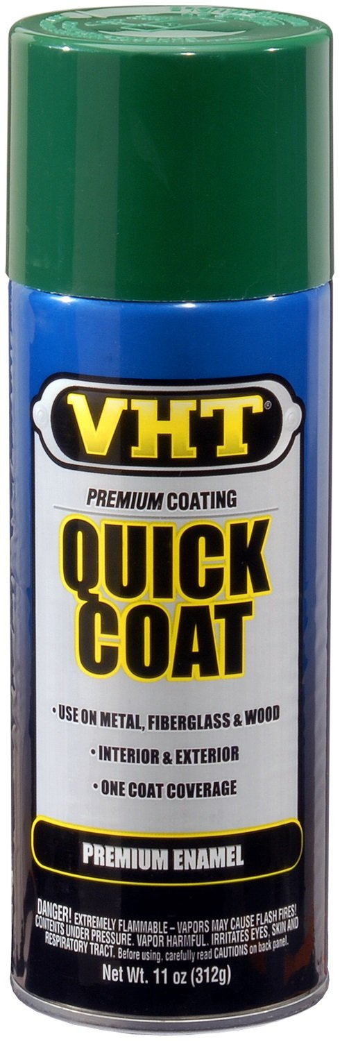 VHT SP512 Quick Coat Forest Green Acrylic Enamel Can - 11 oz. by VHT