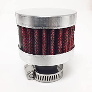 15mm Engine Air Intake Breather Crankcase VENT VALVE Air Filter STAINLESS STEEL