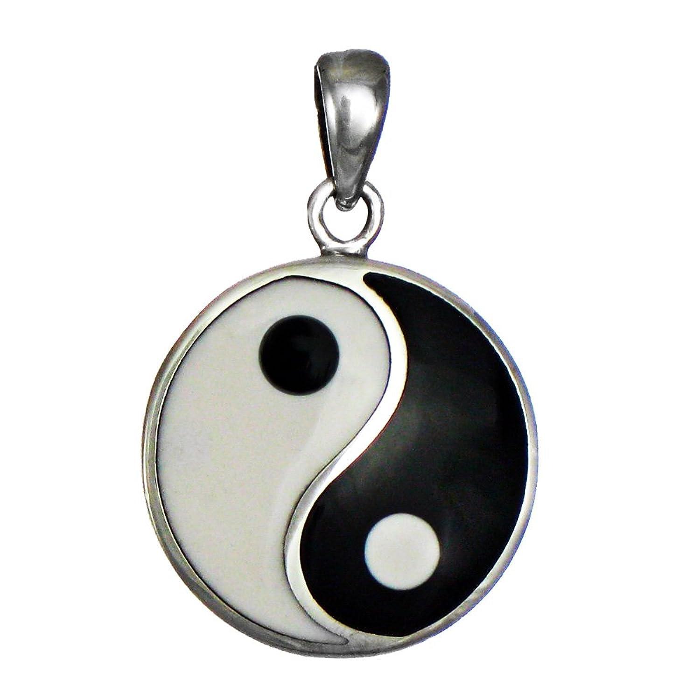 Amazon sterling silver yin yang pendant taoist symbol of amazon sterling silver yin yang pendant taoist symbol of balance jewelry buycottarizona Choice Image