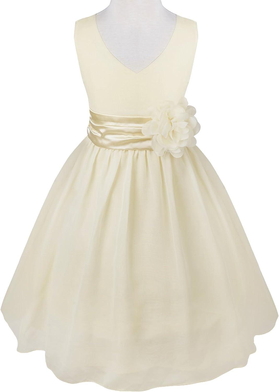 Fleur Fille Princesse Robe Enfant Fête D/'anniversaire Mariage Demoiselle d/'honneur Sun Robes