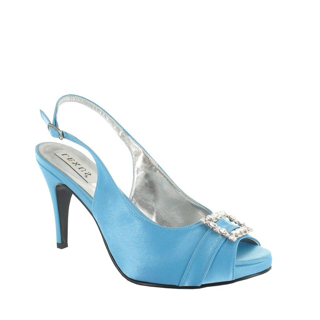 LEXUS Ladies High Heel Platform with Sling Back Sandal with Platform DiamantÚ Trim. 3f9eff