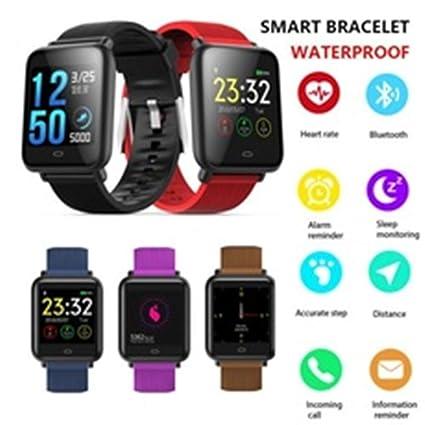QIANRUNHE Q9 Reloj Inteligente Impermeable IPX67 para ...