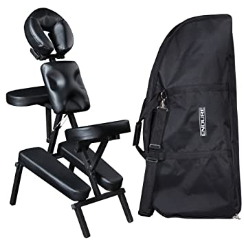 amazon com robin black salon spa portable massage chair mc 50blk