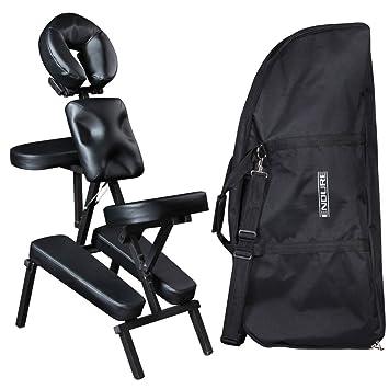 robin black salon spa portable massage chair mc 50blk