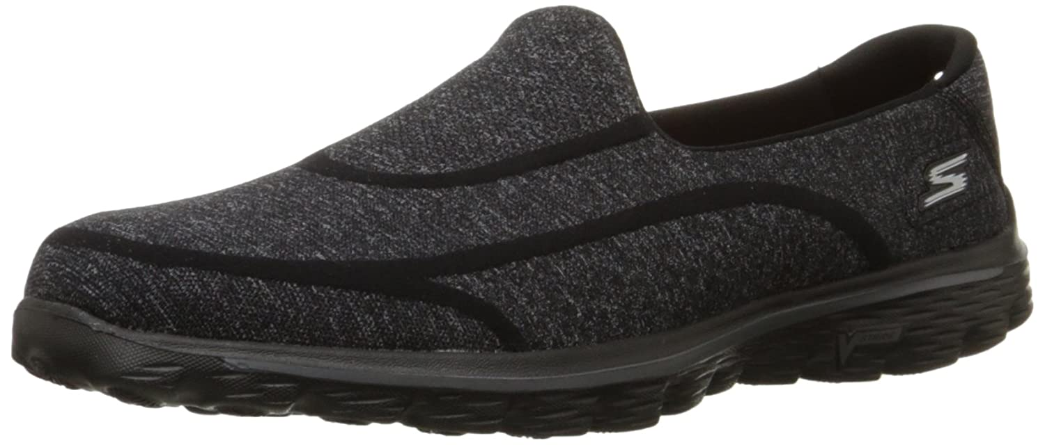 Skechers Gowalk Gowalk 2 Supersock, Baskets mode mode 16953 femme Noir 43589a6 - automaticcouplings.space