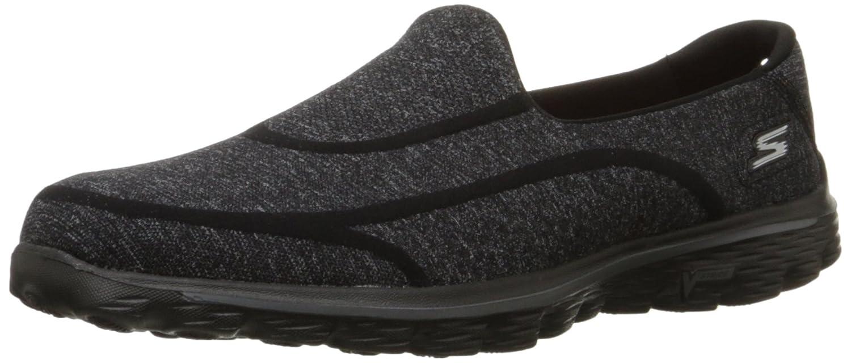 Skechers Go Walk 2 - Super Sock 2 Damen Sneakers Schwarz