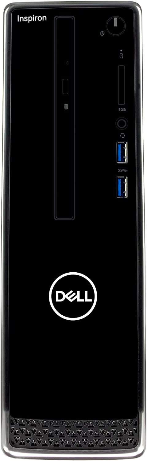 Dell Inspiron i3470 Desktop - 8th Gen Intel 6-Core i7-8700 CPU (12MB Cache, up to 4.60 GHz), 32GB DDR4 Memory, 1TB SSD + 2TB SATA Hard Drive, Intel UHD Graphics 610, DVD-RW Drive, Windows 10 Home