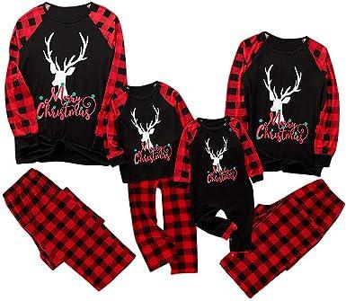 Fossen MuRope Pijamas Familiares Iguales, Merry Christmas ...