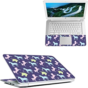 """Mightyskins Skin Compatible with Hp Chromebook 14"""" (2018) - Unicorn Dream   Protective, Durable, and Unique Vinyl Decal Wrap Cover   Easy to Apply, Remove, and Change Styles   Made in The USA"""
