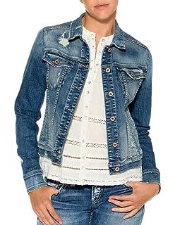 Silver Jeans Co Womens Sinclair Vintage Style Denim Jacket